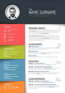 Creative Cv Layout Resume Free Vector Download 24 Free Vector For