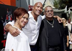 "Dwayne ""The Rock"" Johnson and his father Rocky Johnson ..."