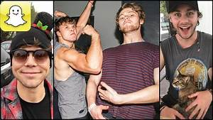 5 Seconds Of Summer - Snapchat Video Compilation (Best ...