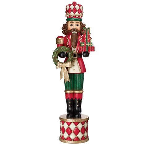 woodlook soldier indoor outdoor life size nutcracker
