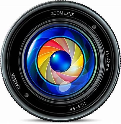 Lens Camera Clipart Vector Transparent Icon Slr