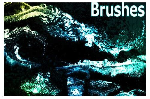 download water splash brushes for photoshop cs3