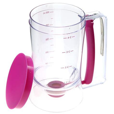 gelas takar adonan kue dapur batter cake dispenser gelas takar adonan kue purple