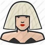 Icon Gaga Lady Mandela Nelson Icons Svg