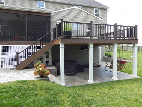 porch deck designs sumptuous sted concrete patio fashion other metro traditional patio decoration ideas with