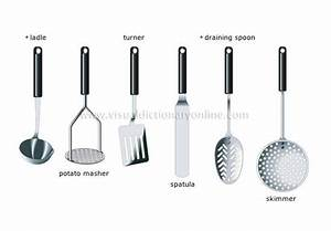 set of kitchen utensils | Visual Dictionary | Pinterest ...