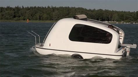 Las Vegas Sportsmen S Boat Rv Travel Show by The Sealander Is Both A Cer Home And A Boat Daily