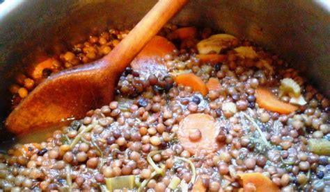 cuisiner le celeri rôti en cocotte et ragoût de lentilles vertes du puy