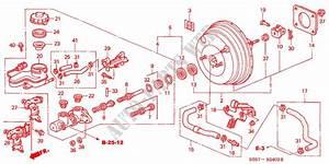 Brake Master Cylinder   Master Power  Rh   1  For Honda