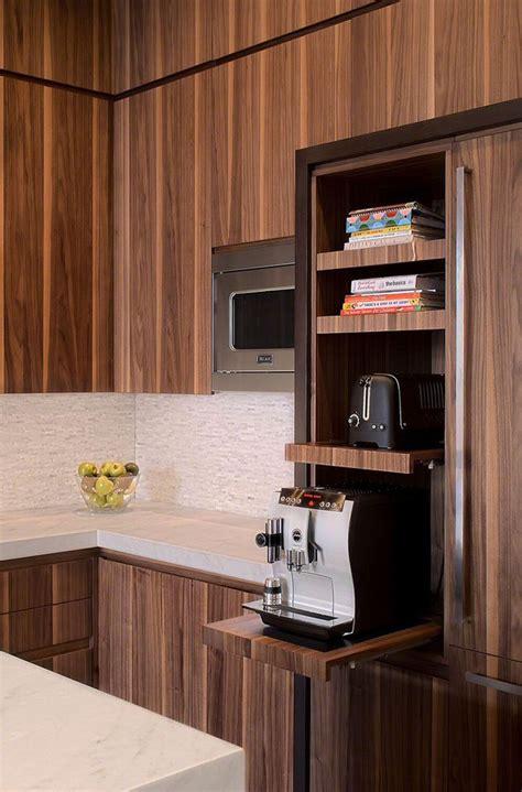 kitchen design idea pull  counters