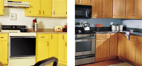 sears cabinet refacing before and after cabinet refacing installation services sears home services