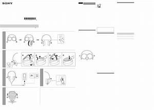 Sony Headphones Mdrzx110nc User Guide