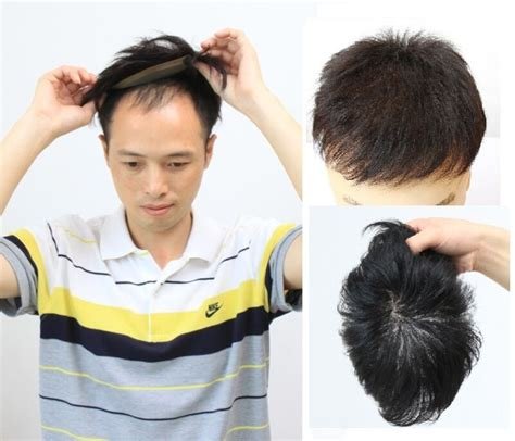 hairpiece human hair replacement system toupee  style