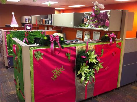 decorate your desk for christmas creative office christmas decorating ideas