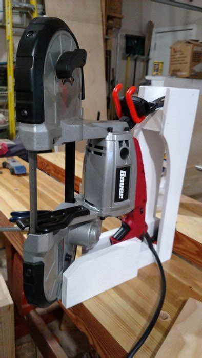 harbor freight portaband table portable bandsaw stand by bluenote38 lumberjocks com