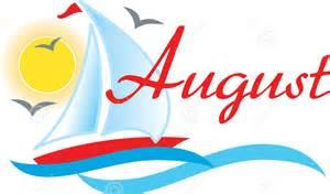 August Month Clip Art