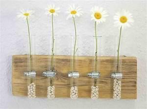 Deko Holz Wand : wandvase recyclingkunst und der versuch langsam und nachhaltig zu leben ~ Eleganceandgraceweddings.com Haus und Dekorationen