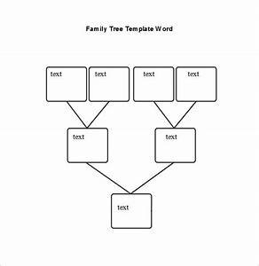 blank family tree chart 10 free excel word documents With family tree diagram template microsoft word