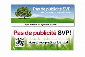 Pas De Pub Merci : autocollants stop pub gratuits ~ Dailycaller-alerts.com Idées de Décoration
