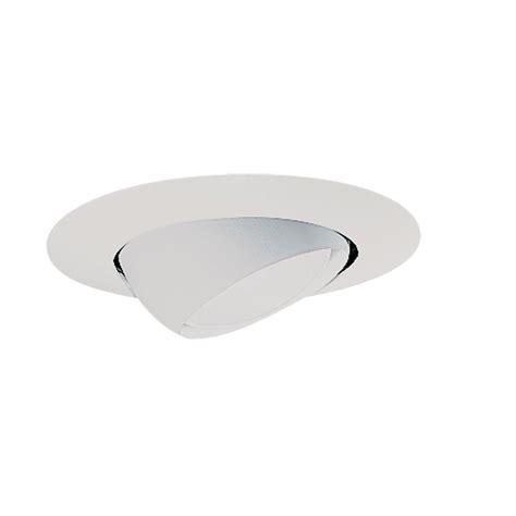 halo 78 series 6 in white recessed ceiling light trim