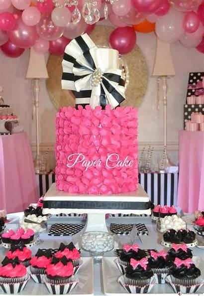Bridal Shower Pink Cake Paper Lizbushong Cakes