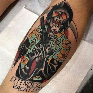 45 Grim Reaper Tattoo Design Ideas With Meaning