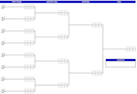 tournament templates exceltemplatenet