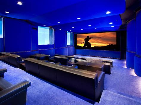 Home Theatre : Home Theater Seating Ideas