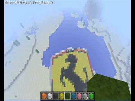 minecraft pixelart ferrari logo youtube