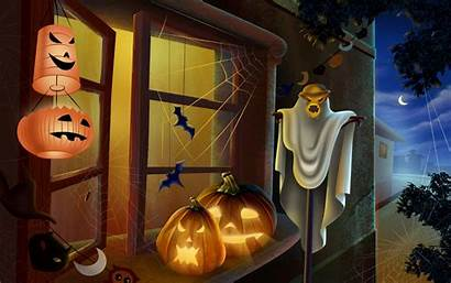 Halloween Curiosidades Scary Decorations Desktop Backgrounds Happy