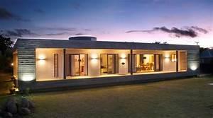 Rectangular, Concrete, House, By, Rethink