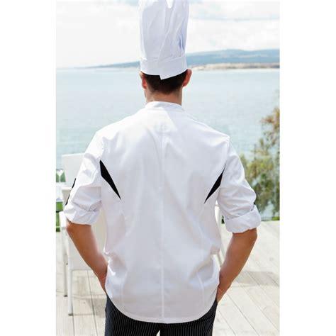 veste de cuisine noir veste de cuisine manches longues transformables