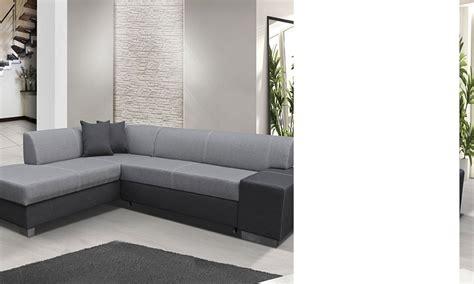 canapé d angle bicolore canapé d 39 angle convertible bicolore avec coffre de