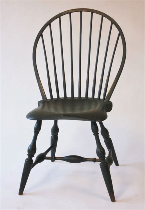 bow back side chair with beehive back ch1a chris harter