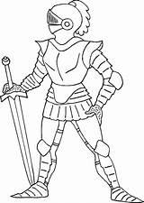 Ritter Knight Coloring Ausmalbilder Pages Knights Standing Still Caballeros Kostenlos Printable Three Disegno Horse Fairy Von Ausmalen Colorare Bilder Mittelalter sketch template