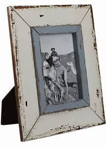 Bilderrahmen Holz Weiß : bilderrahmen wei blau shabby vintage fotorahmen holz 25x30 ~ Frokenaadalensverden.com Haus und Dekorationen