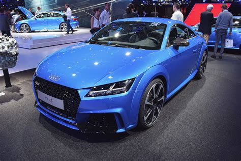 audi tt rs fantastic audi tt rs at motor show stable vehicle contracts