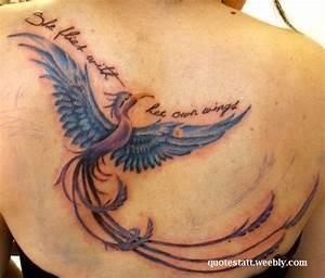 Phoenix Bird Qu... Phoenix Bird Tattoo Quotes