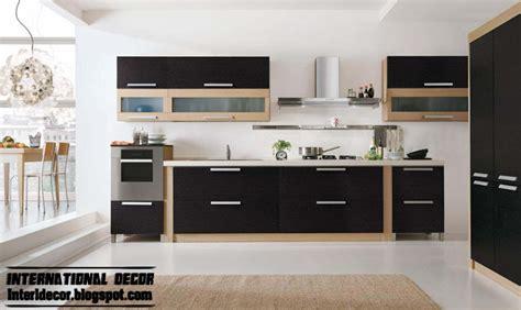 stylish kitchen ideas modern black kitchen designs ideas furniture cabinets
