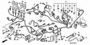 Wire Harness For 2005 Honda Xl1000v Xl1000v  Varadero