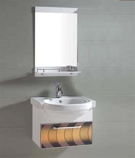 Where Can I Buy Bathroom Cabinets by Buy Sanitop Ceramic Wash Basin And Pvc Bathroom
