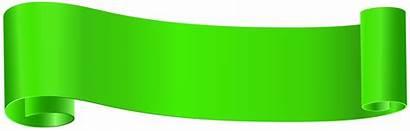 Banner Clip Clipart Verde Banners Frozen Transparent