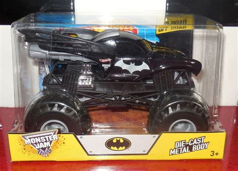 monster jam batman new 1 24 wheels monster jam batman monster truck