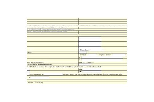 new tan application form 49b download