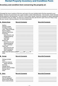 download rental property inventory and condition form for With inventory for rental property template