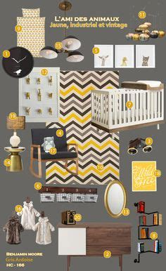 chambre bébé unisex industrial nursery on distressed picture