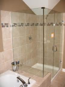 glass tiles bathroom ideas bathroom design with bathtub and shower home decorating ideas