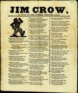 Jim Crow Song