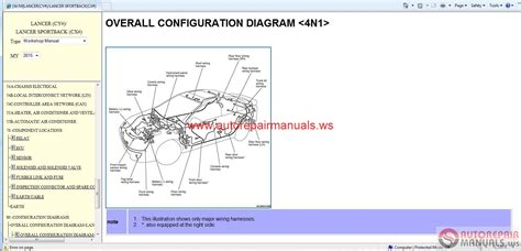 mitsubishi lancer   lancer sportback  service manual cd auto repair manual forum