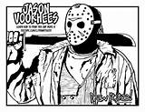 Jason Coloring Voorhees Pages Lake Crystal Camp Welcome Draw Too Colouring Printable Getcolorings sketch template